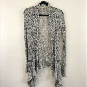 Hollister open front cardigan size XS long sleeve